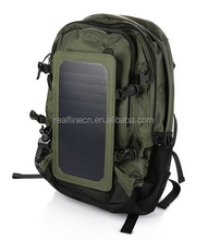 Outdoor Solar Backpack Solar Charger Back Pack Bag With Removable 6.5W Solar Panel Sunpower Bag outdoor bag
