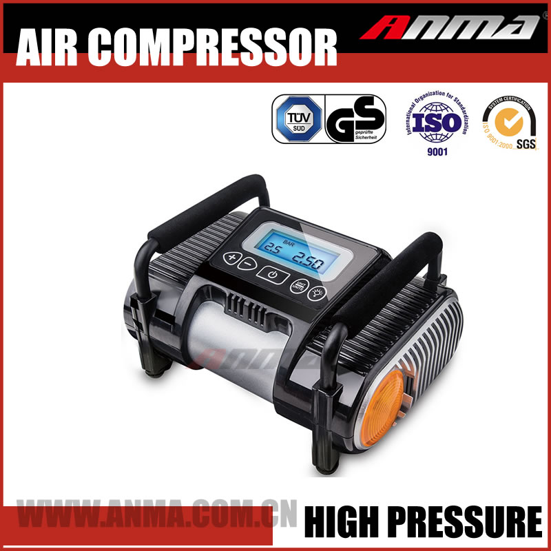 Mini electric air compressor 12VDC portable auto car air compressor