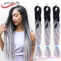 Hair wholesale supplier in China ombre braiding hair extensions cheap expression braid hair wholesale