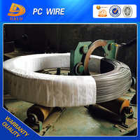 PC steel wire 3.0-10.0mm surface smooth and sprial rib astm a416