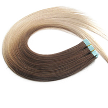 Wholesale top quality indian remy taped hair extensions