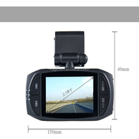 Novatek mini car camera dvr parking recorder video