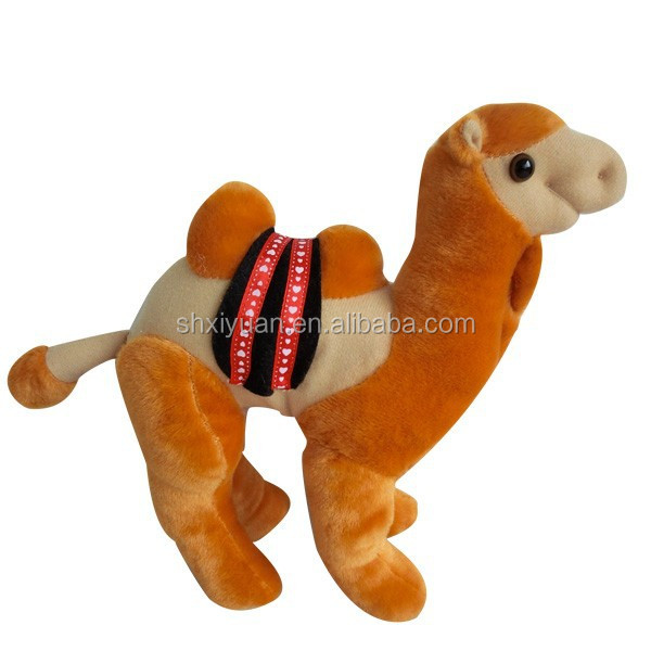 Soft small cheap plush toy animals small camel toys for children