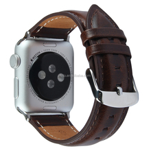 DW Style Genuine Leather Wrist Strap Smart Watch Band For Apple Watch Band Leather Series1/2/3