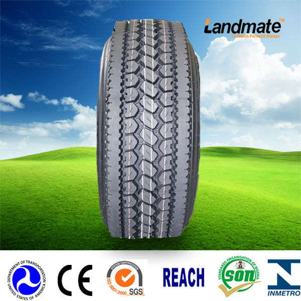 2015 China new hot sale LANDMATE tires size 11R22.5 11R24.5