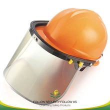 full face air shield safety face shield with PVC screen for helmet