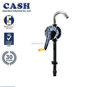 Trade Assurance Food Grade Plastic, Stainless, Aluminum Hand Drum Pump for Water, Acid, Oil, Chemical
