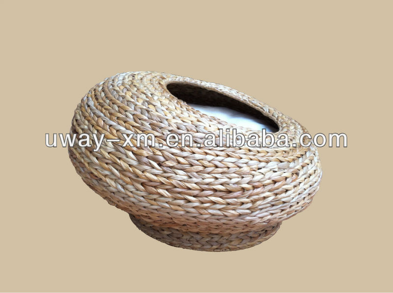 Summer banana leaf round pet nest for cats