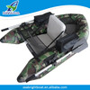 2016 CE Certification PVC Hull Inflatable Portable Individual Fishing Boat