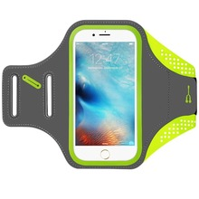 High Quality Sweat Proof Ultra Slim Lycra Sport Running Armband for iPhone Smart Phone Arm Case
