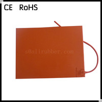 Silicone Rubber Electric Flexible Heater Used In LV & HV Swichgear Cabinet