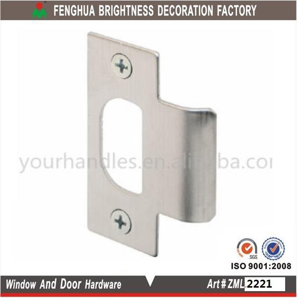 Stainless Steel Adjustable Blank Door Lock Strike Plate - Buy Stainless Steel Door Lock Strike PlateStainless Steel Door Sill PlateStainless Steel Door ...