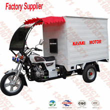 Newest stlye 200CC cargo tricycle with closed body