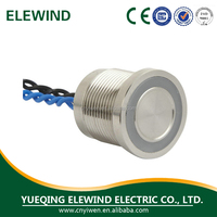 2015 newest design high quality piezo switch,led metal piezo switch,piezo electronic switch