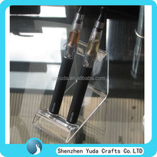 Double position acrylic vapor stand,factory on stock electronic cigarette display