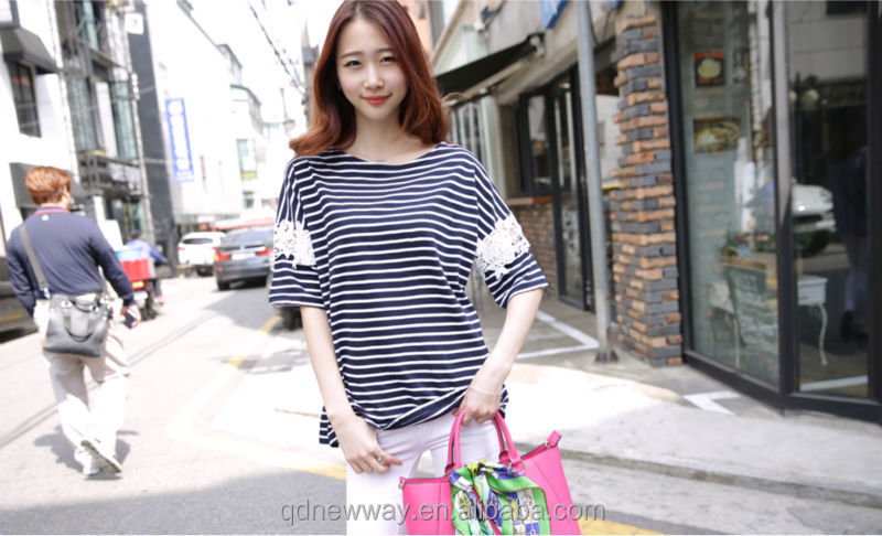 Fashion Knitting kimono pullover hollow-out sexy lady's t-shirt