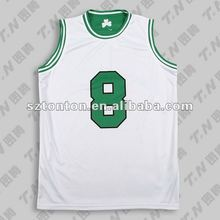 Sublimated basketball practice jersey for kids