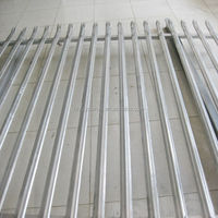factory metal fence