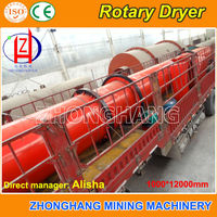 Compleste Line Wood Stove Chips Rotary Dryer to Dry Sawdust, Wood Chips