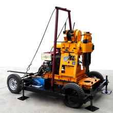 best truck-mounted mobile water well borehole drill rig drilling machine