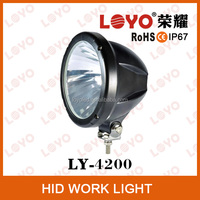 Guangzhou Car parts 9-32v hid work light for tractor high quality hid working light