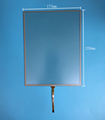 10.4'' inch Universal 4-wire resistive touch 226mm*173mm Outlet 1324 ST-104005 transparent touch screen