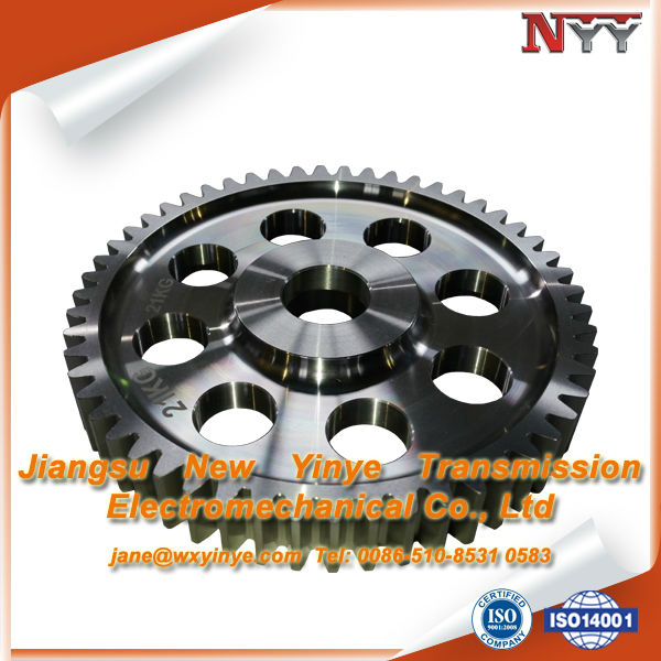 Manufacturer Involute Helical Spur Driver Small Gear Wheel For Textile Machinery