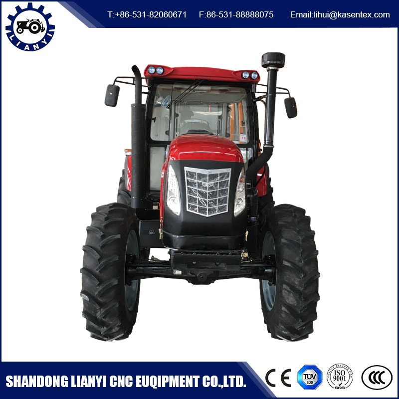 Wholesale products china 110hp 4wd farm tractor high clearance with AC cabin