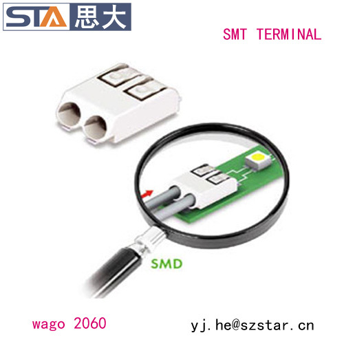 Wire led strip connector 2060 SMD LED Terminal Block