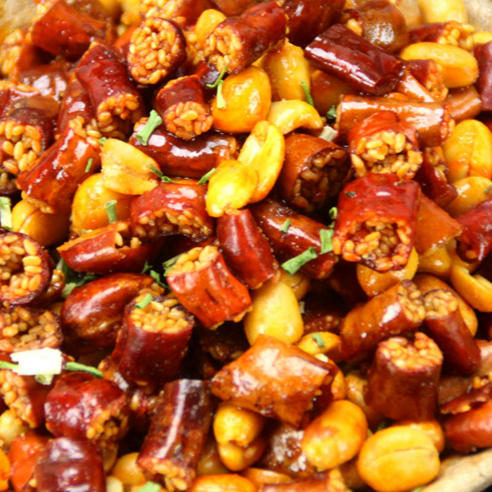 Home Cooking Seasoning Fried Spicy Flavor Peanuts with Sesam