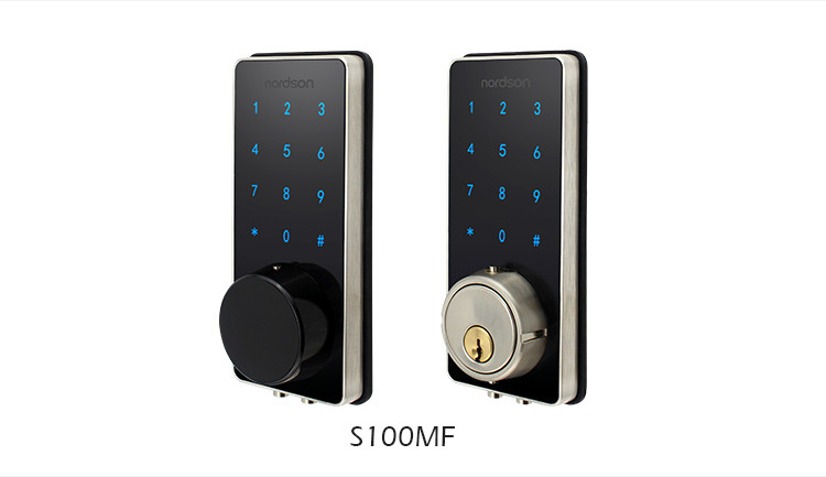 App Control NFC MF Card Touch Screen Keyless Electronic Smart Home Door Lock Security Machanic Door Lock Digital Lock