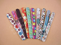 colorful printed nail file