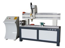cylindrical materials engraving 1200 cnc router machine