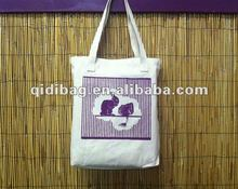 Rabbit Canvas Tote Bag