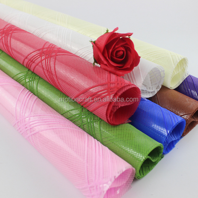 Wholesale waterproof wrapping paper for flower