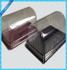 clear plastic PET plastic blister packaging box for cake/cookie/fruit