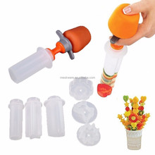 Creative kitchen plastic fruit carving tools, fruit and vegetable carving tools