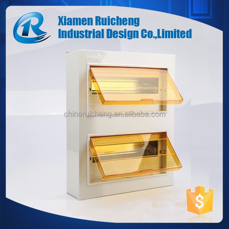 Trade Assurance OEM plastic electric box cover injection molding products