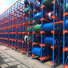 Outdoor External Galvanised Warehouse Pallet Racking Layout Provider Plant