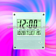 Decorative Weather Station Clock electronic wall clock