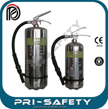 AFFF3% foam fire extinguisher CE0036 and Stainless Steel 304