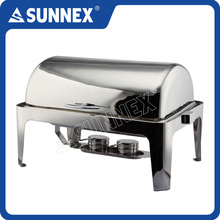 Sunnex High Quality Stainless Steel Full Size Food Pan Electric Chafing Dish Buffet