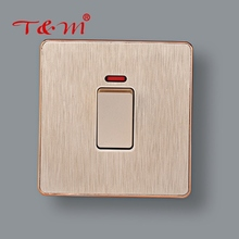 High quality 1 gang control electric home type lamp wall switch
