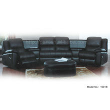 indoor sofa with coffee table & recliner sofa china