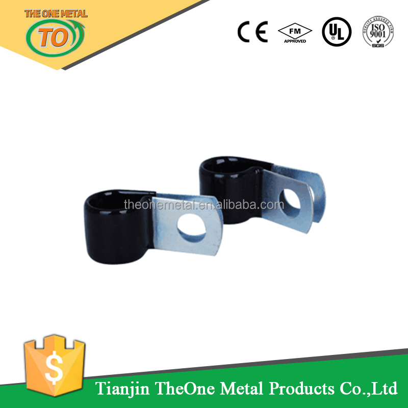 Rubber Lined Steel C Clips