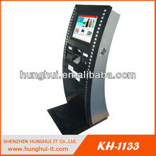 19'' Full HD Interactive Advertising Kiosk LCD Monitor
