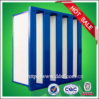 dust hepa filter sheet air filter box