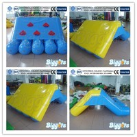 Inflatable Floating Water Park Dubai Water Slide Mini Water Slide