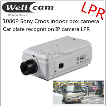 plate recognition cctv camera