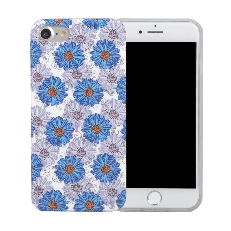 China Supplier golden pattern custom 3d printing phone back cover